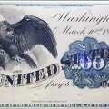 BUREAU OF ENGRAVING AND PRINTING. THE FIRST DOLLAR BILLS