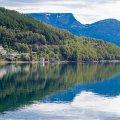 Sorheim Brygge. Lyngen Fjord, Norge