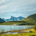 Lyngen Fjord, Norge