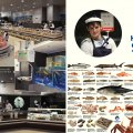Logo development, store interior, POS and promo activities design for the fish shop-in-shop store