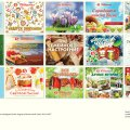 Layouts design of the monthly promo-catalogues for the largest in Russia retail chain